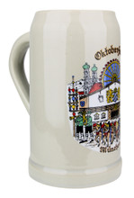 Authentic German Ceramic Beer Mug 1 Liter