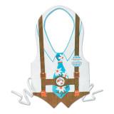 Oktoberfest Edelweiss Plastic Party Vest Male