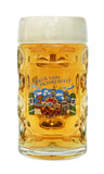 Munich Oktoberfest Glass Beer Mug