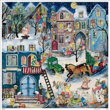 Kids Traditional German Christmas Advent Calendar Angels
