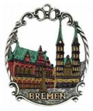 Bremen German Pewter Christmas Tree Ornament