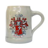 Becks German Stoneware Beer Mug 0.5 Liter