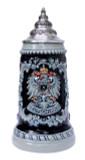 Deutschland Eagle Cobalt Blue Beer Stein