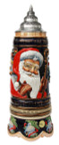 Old World Santa Silent Night Musical Beer Stein