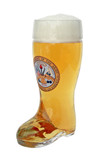 Traditional 0.5 Liter German Beer boot with US Army Seal