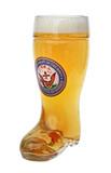 US Navy Glass Beer Boot 0.5 Liter