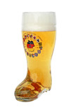 Traditional 0.5 L German Beer Boot