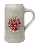 Becks Rastal Stoneware German Beer Mug 1 Liter
