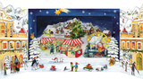Christmas Market 3D German Advent Calendar
