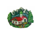 Alpine Village Pewter German Hat Pin