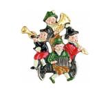 Oompah Band German Pewter Pin