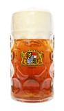 Oktoberfest Glass Beer Mug Bayern Crest