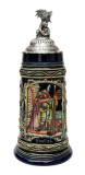 Siegfried the Dragon Slayer Farewell Beer Stein with Dragon Lid