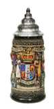 New Zealand Beer Stein Rustic