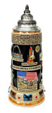 United States Panorama Beer Stein