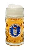US Air Force Dimpled Oktoberfest Glass Beer Mug 0.5 Liter