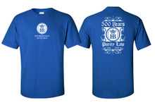Reinheitsgebot German purity law 500 year Anniversary commemorative T-Shirt honors pure German craftsmanship