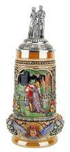 Unique German Beer Stein for Wedding Party