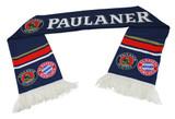 Paulaner FC Bayern Soccer Scarf
