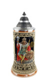 Gambrinus The Beer King Stein Hand Painted | 0.3 Liter