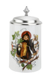 Traditional German Ceramic Beer Stein