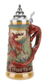 Hunters Joy Fox Handle Beer Stein