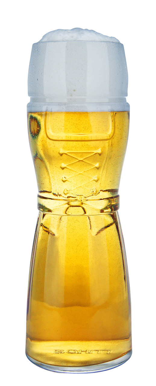 custom engraved dirndl wheat beer glass 0 5 liter. Black Bedroom Furniture Sets. Home Design Ideas