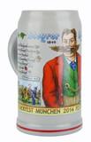 Oktoberfest Ceramic Beer Mug