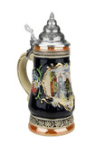 Romantic Rothenburg German Beer Stein | 0.3 Liter