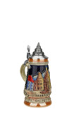 Frankfurt Mini German Beer Stein | 0.125 Liter