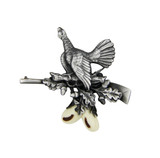 Grouse Hunting German Hat Pin