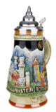 Famous Landmarks Romantic Road German Beer Stein
