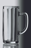 Personalized .5 Liter Moldau Glass Beer Mug