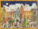 Victorian Village German Advent Calendar