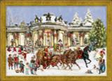 Victorian Sanssouci Castle German Christmas Advent Calendar