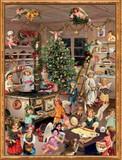 Victorian Christmas Angels Baking German Advent Calendar