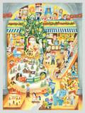 Santa's Toy Shop German Advent Calendar