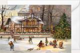 Schwanenschlosschen German Christmas Card