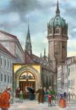 Martin Luther Wittenberg Church German Christmas Advent Calendar