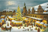 Leipzig Christmas Market German Christmas Advent Calendar