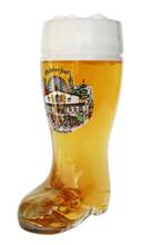 Traditional 0.5 Liter German Beer Boot