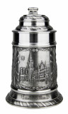 Munich Pewter Beer Stein