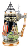 Viking Beer Stein with Axe Handle