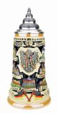 German Traveler Beer Stein | 0.4 Liter