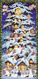 Christmas Forest House Extra Tall German Advent Calendar