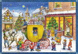Christmas Carriage German Advent Calendar