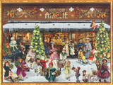 Victorian Chocolate Shop German Advent Calendar
