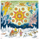 Christmas Star 1961 Reproduction German Advent Calendar
