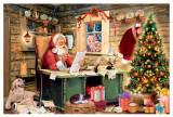 Santas List German Christmas Advent Calendar
