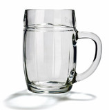 Mannheim Glass Beer Mug 0.5 Liter